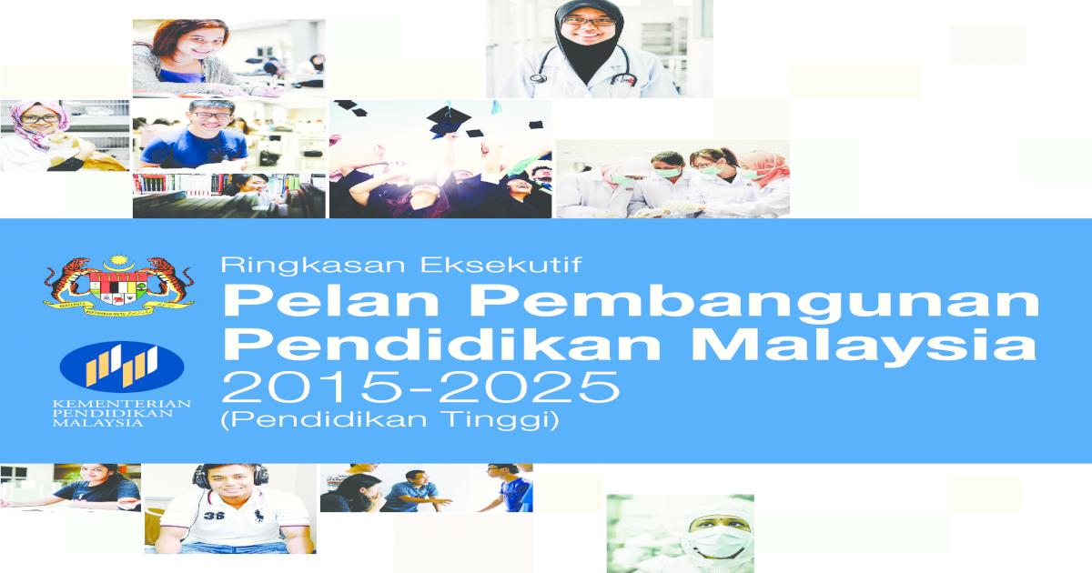 Pelan Pembangunan Pendidikan Malaysia 2015 2025 Pdf Document