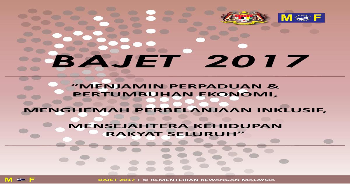 Touch Point Bajet 2017 Pdf Document