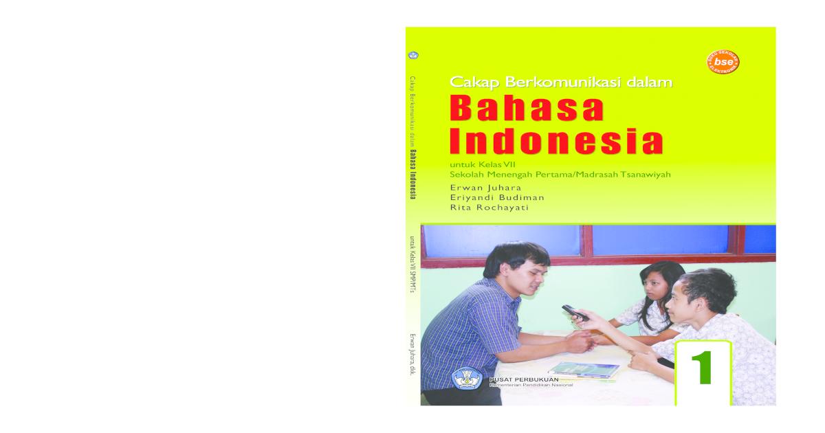 Cakap Berkomunikasi Dalam Bahasa Indonesia - [PDF Document]