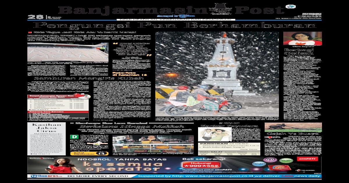 Banjarmasin Post Minggu Edisi 31 Oktober 2010 - [PDF Document]