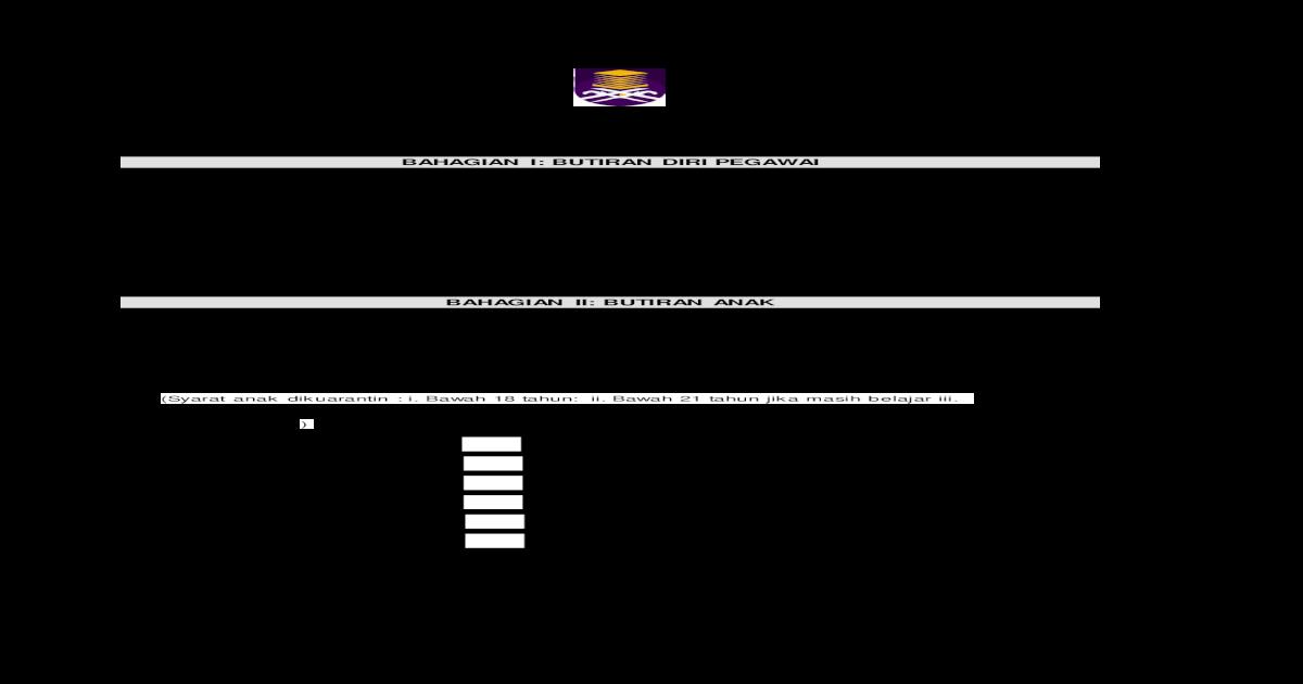 Borang Permohonan Kemudahan Cuti Permohonan Borang Permohonan Kemudahan Cuti Kuarantin Hari Untuk Menunaikan Fardhu Haji Taska Sekolah Telah Diisytihar Sebagai Kawasan Pdf Document