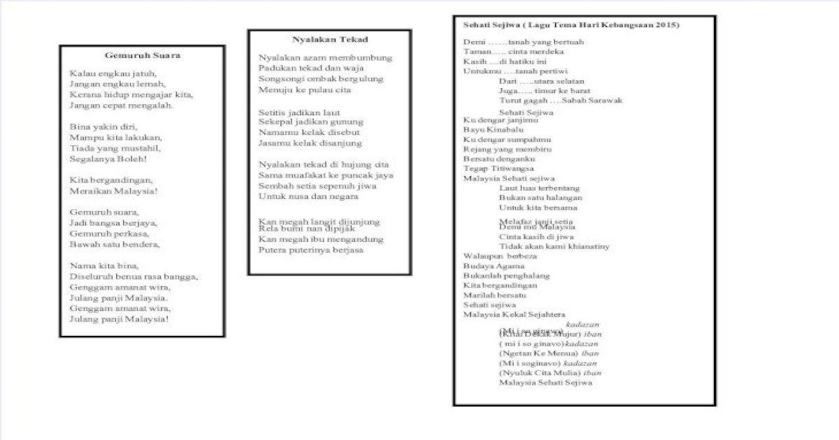Lagu Patriotik Pdf Document