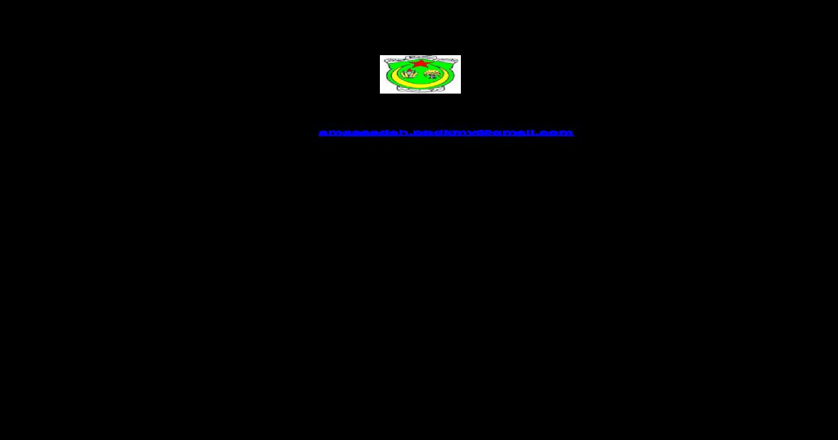 Sma Saadah Aldiniah Alislamiah Kedah Darul Aman Merupakan Sekolah Agama Bantuan Kerajaan Sabk Di Pdf Document
