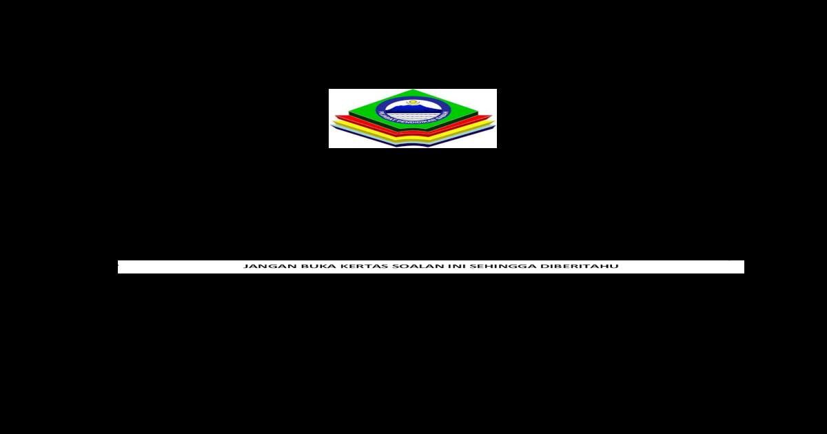Sektor Pendidikan Islam Jabatan Pendidikan Sulit 5226 2 Percubaan Tasawwur Islam Spm 5226 2 C 2018 Pdf Document