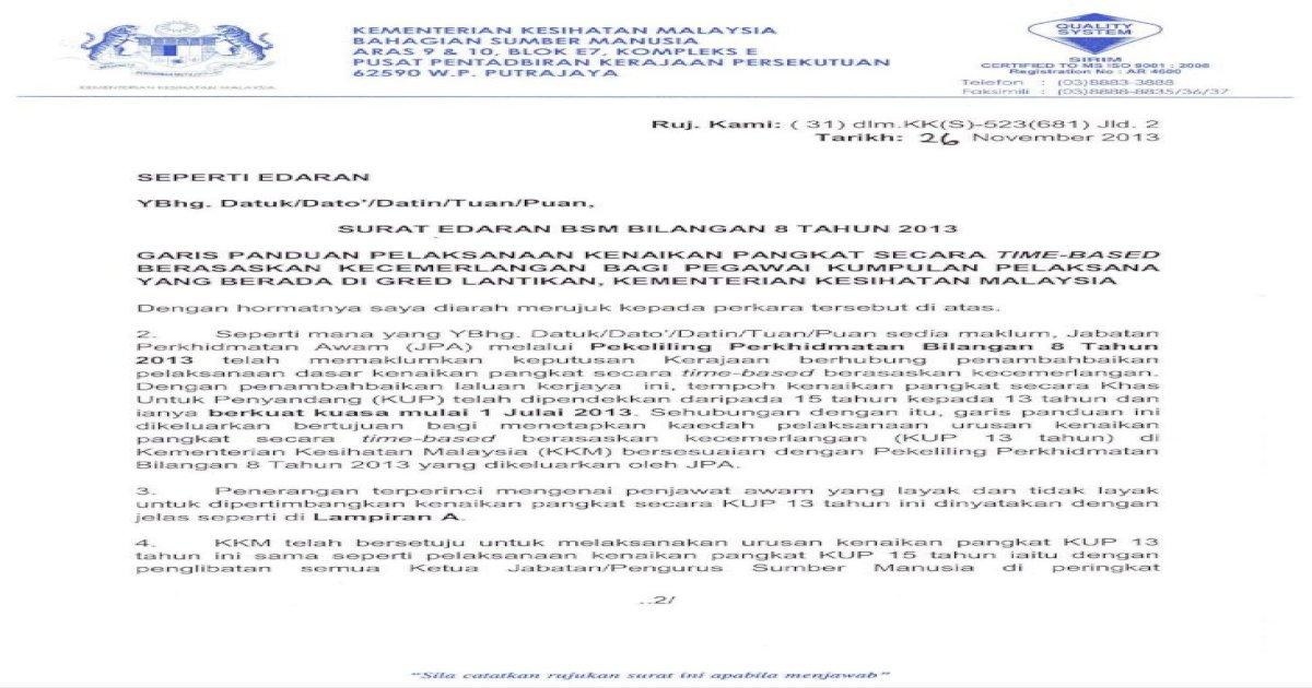 2013 Telah Moh Gov My Download Images Pangkat Secara Time Based Berasaskan Kecemerlangan Kup Pdf Document
